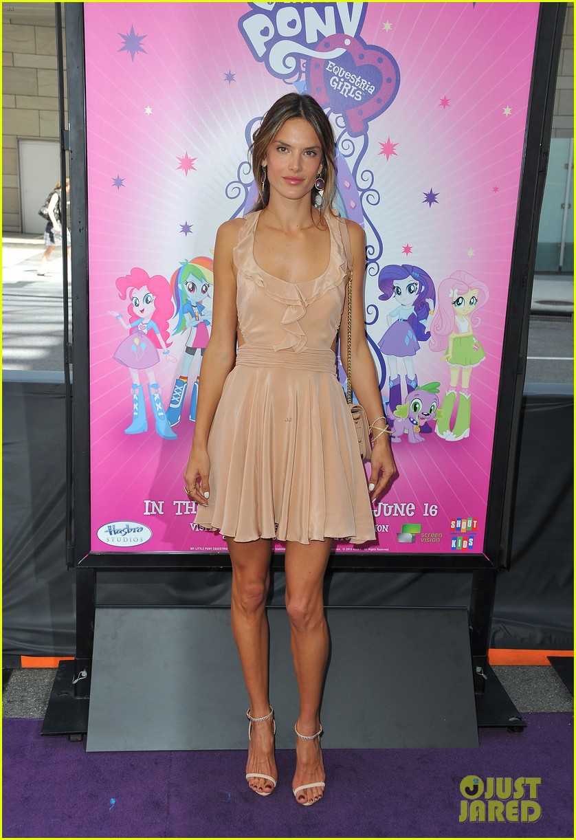 alessandra ambrosio my little pony premiere after anja graduation 102892136