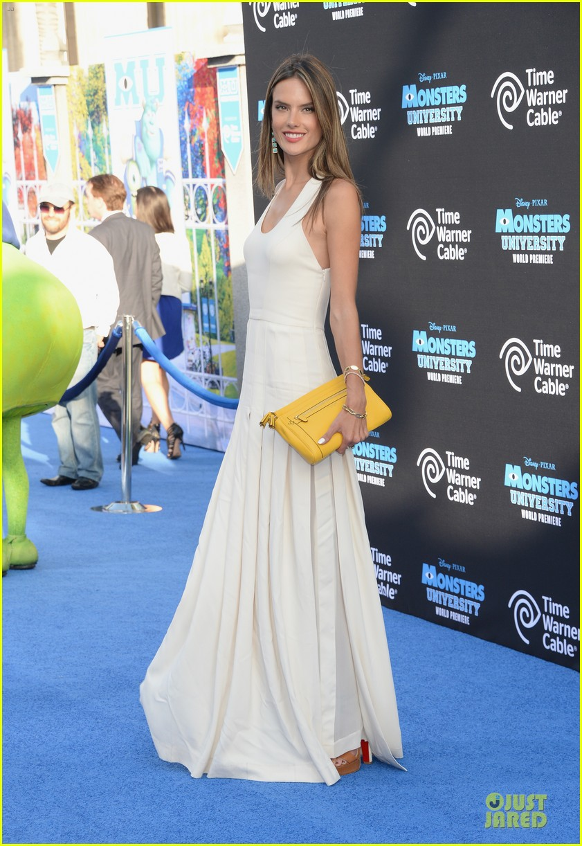 alessandra ambrosio garrett clayton monsters university premiere 012893527