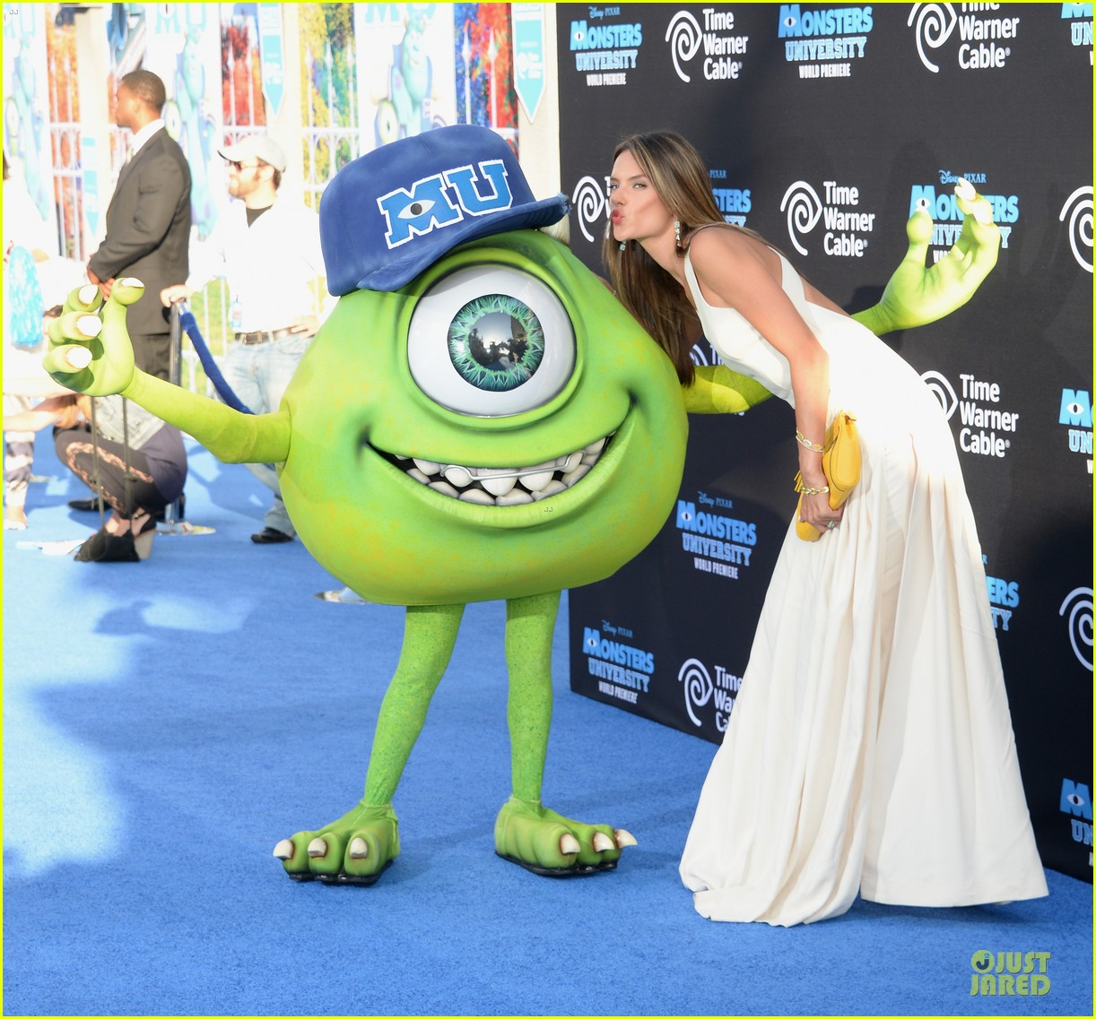 alessandra ambrosio garrett clayton monsters university premiere 072893533