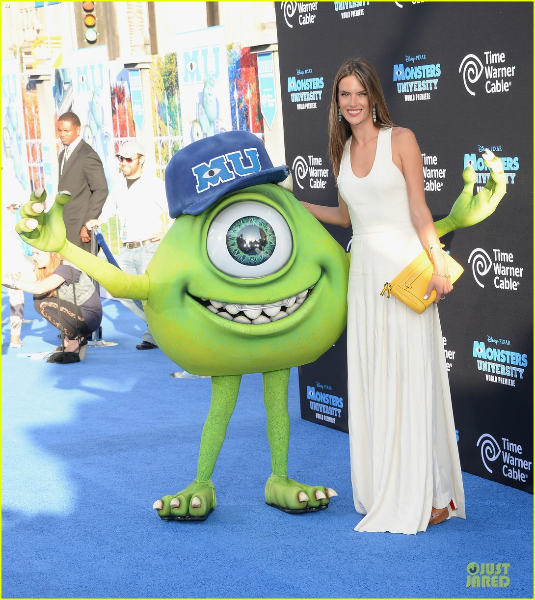 alessandra ambrosio garrett clayton monsters university premiere 082893534