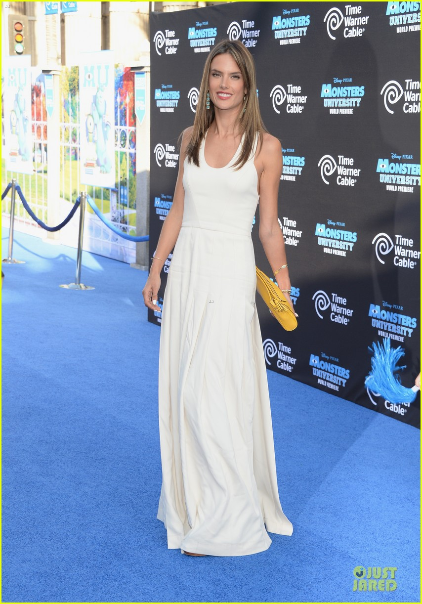 alessandra ambrosio garrett clayton monsters university premiere 122893538