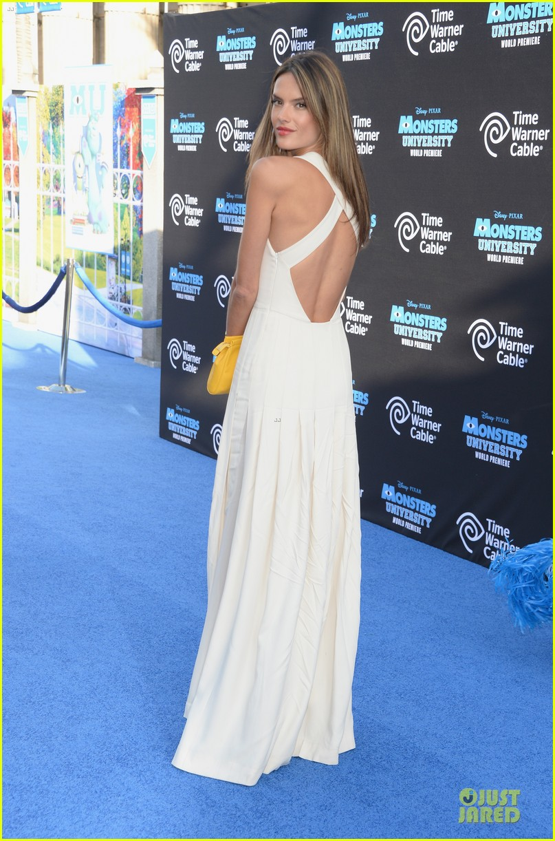 alessandra ambrosio garrett clayton monsters university premiere 132893539