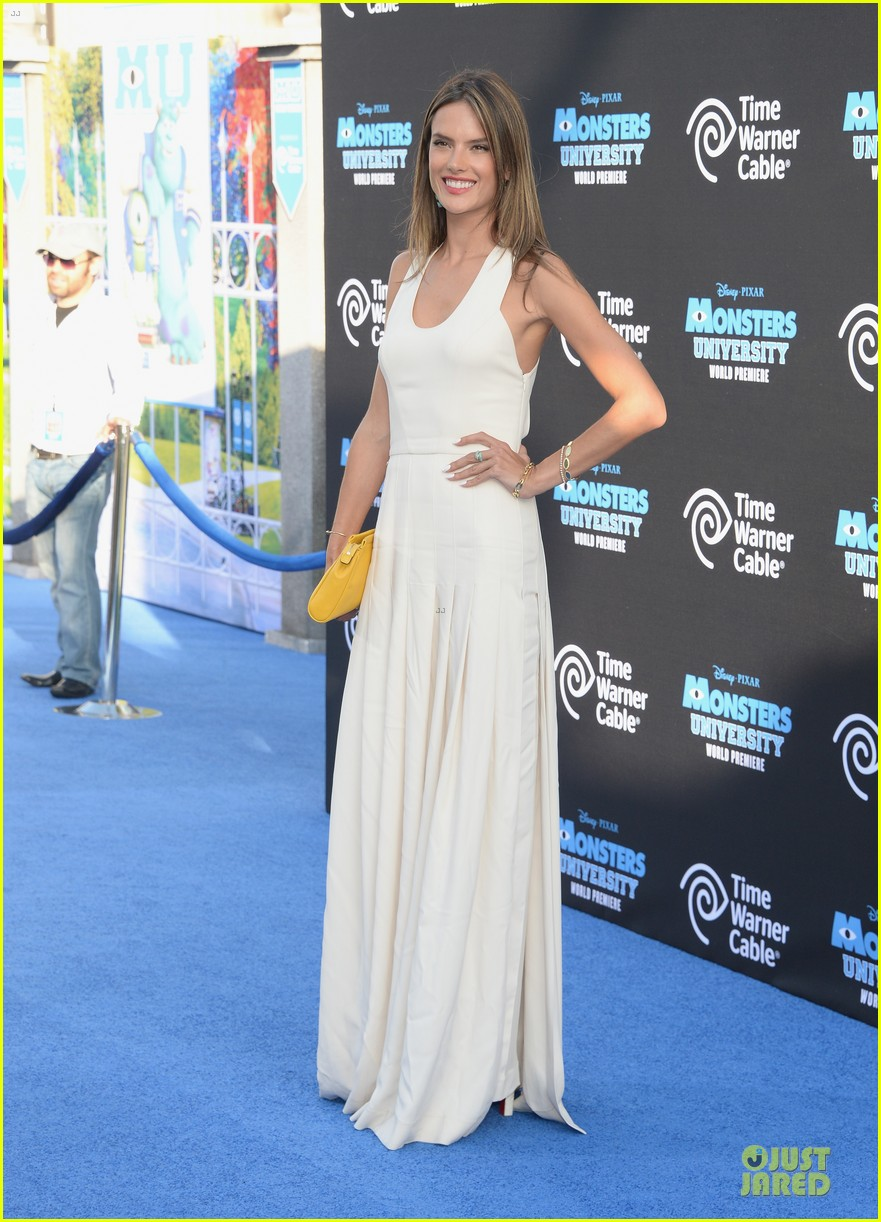 alessandra ambrosio garrett clayton monsters university premiere 172893543