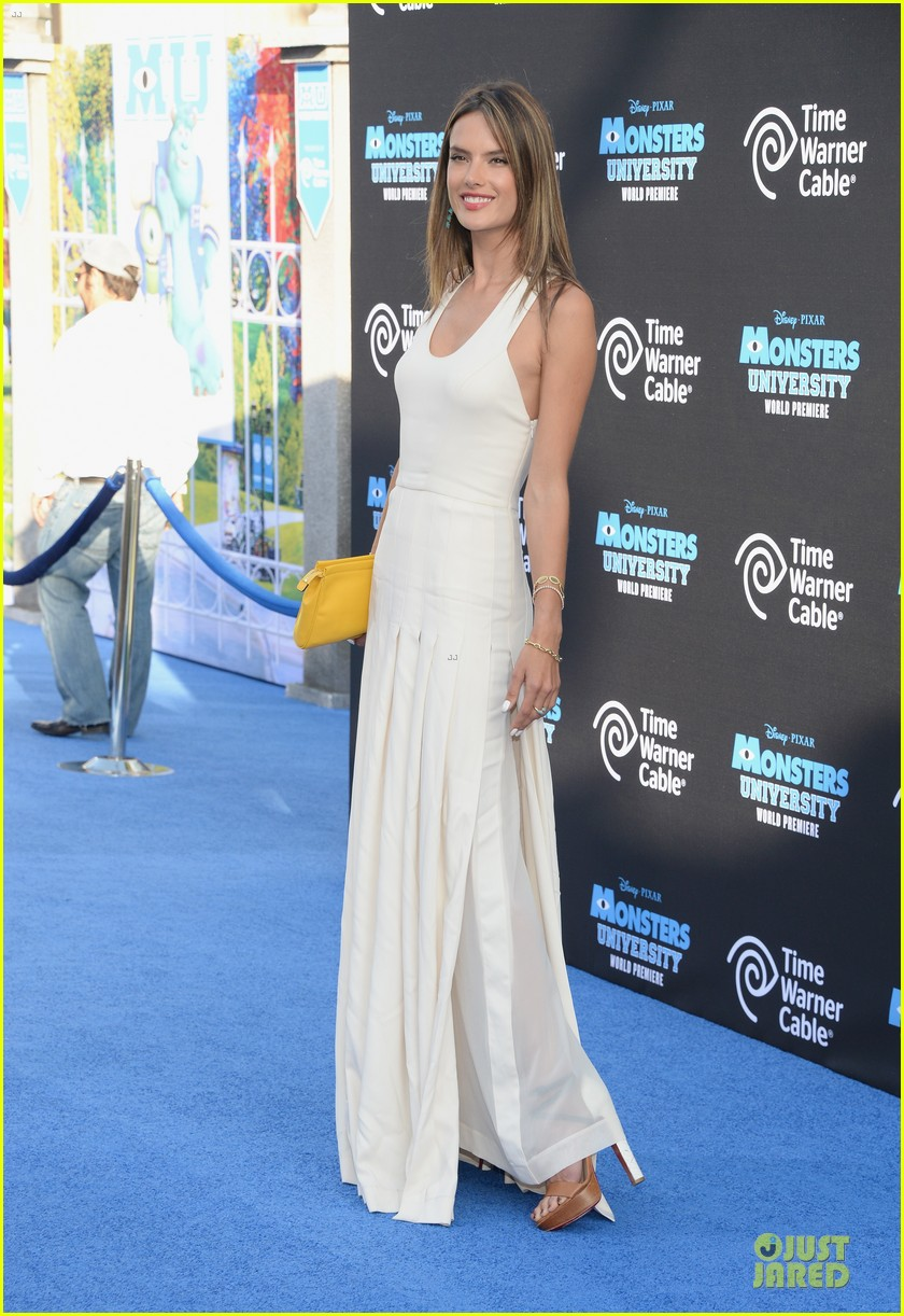 alessandra ambrosio garrett clayton monsters university premiere 182893544