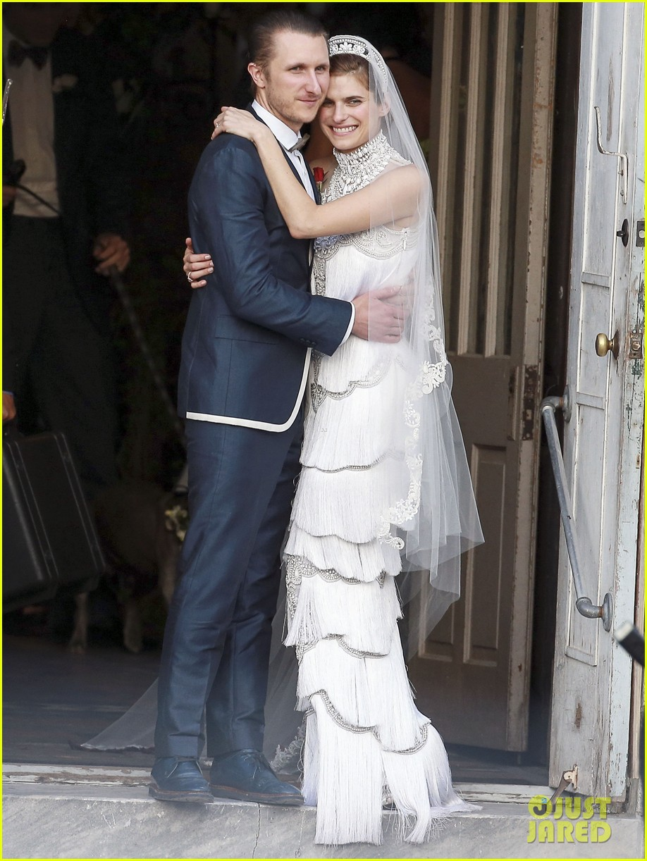 Jennifer Aniston & Kate Bosworth: Lake Bell\'s Wedding Guests!: Photo ...