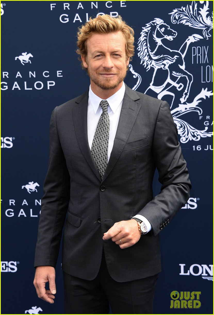simon baker prix de diane longines in paris 132892823