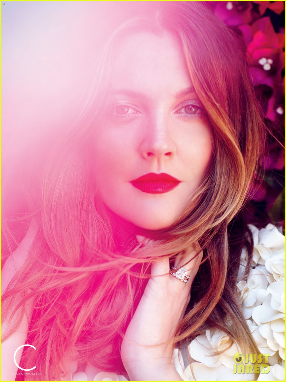 drew barrymore covers c magazine summer issue 012890725
