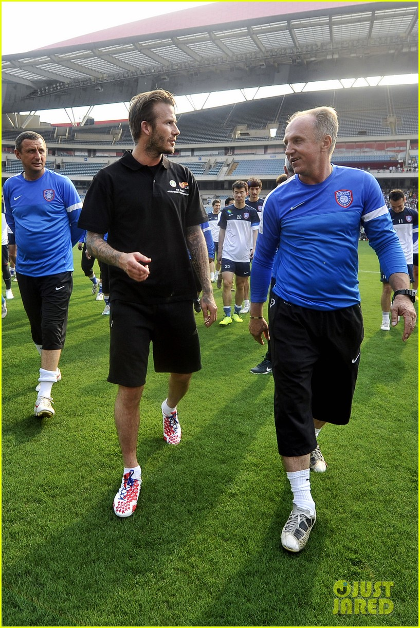 david beckham visits china 052893625