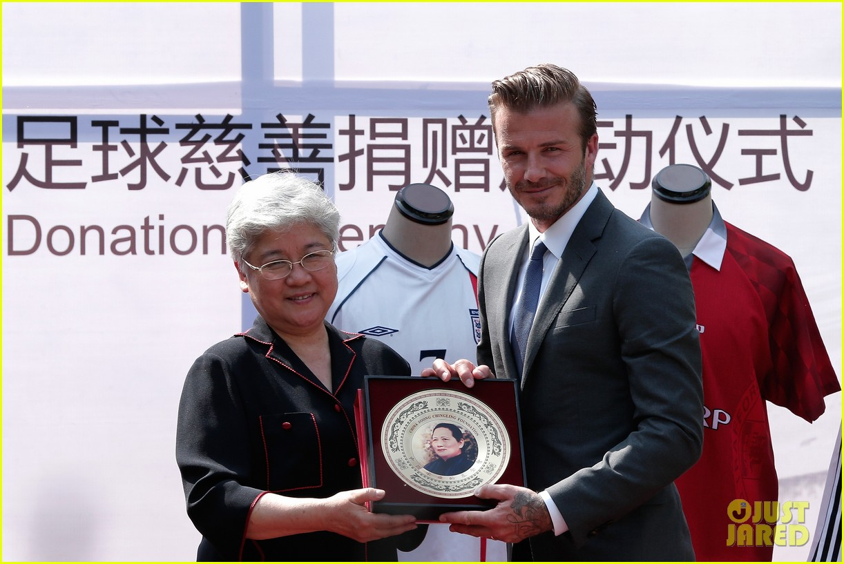david beckham visits china 07