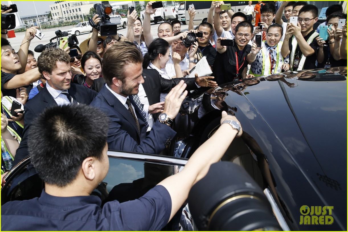 david beckham visits china 12
