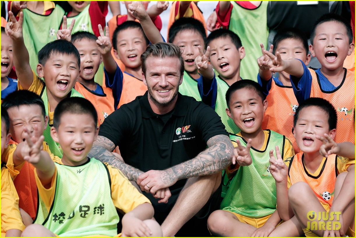 david beckham visits china 172893637
