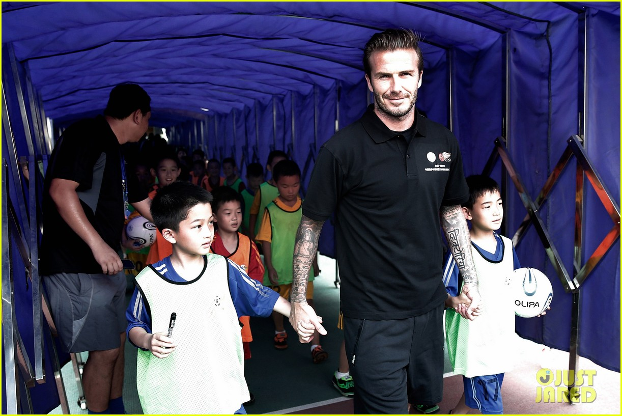 david beckham visits china 222893641