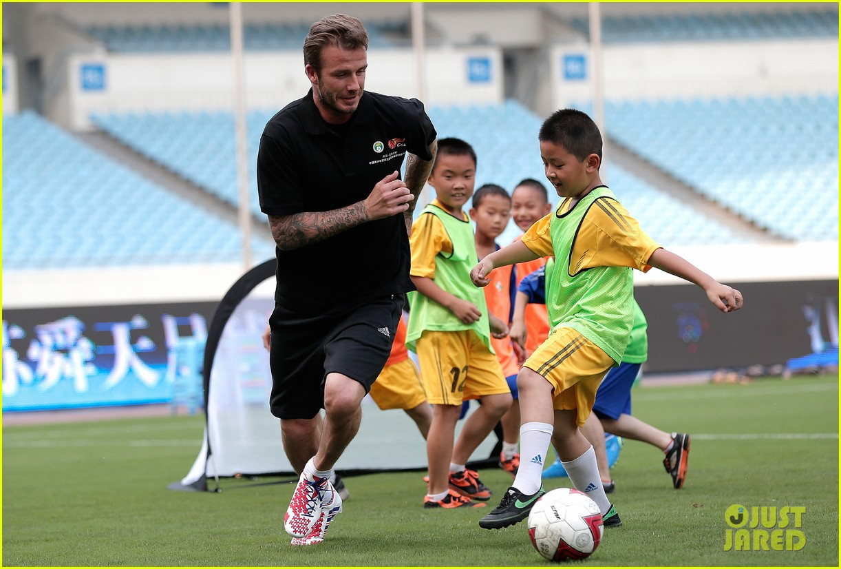 david beckham visits china 272893646