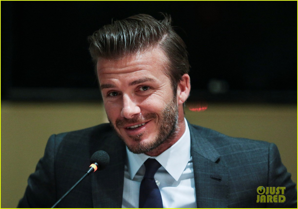 david beckham third day of china visit 042894404
