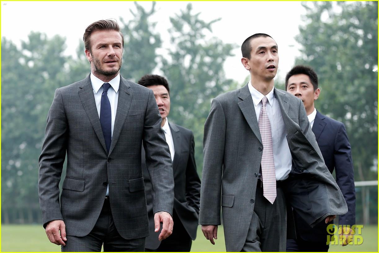 david beckham third day of china visit 212894421