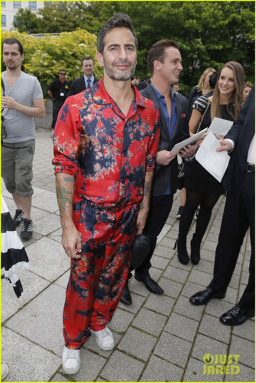 david beckham louis vuitton fashion show with marc jacobs 012899498
