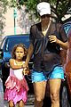 pregnant halle berry sheer top at bristol farms with nahla 05
