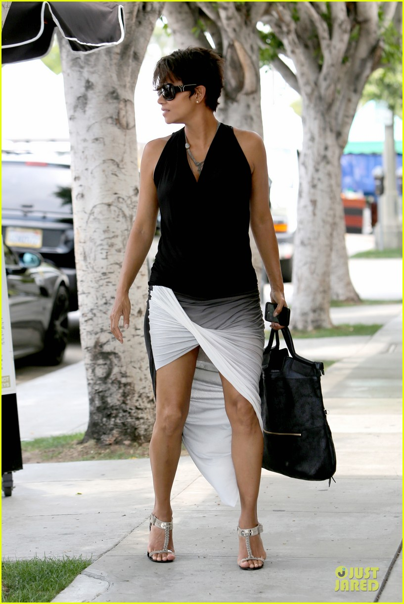 halle berry twisted legs at fig olive 122901367