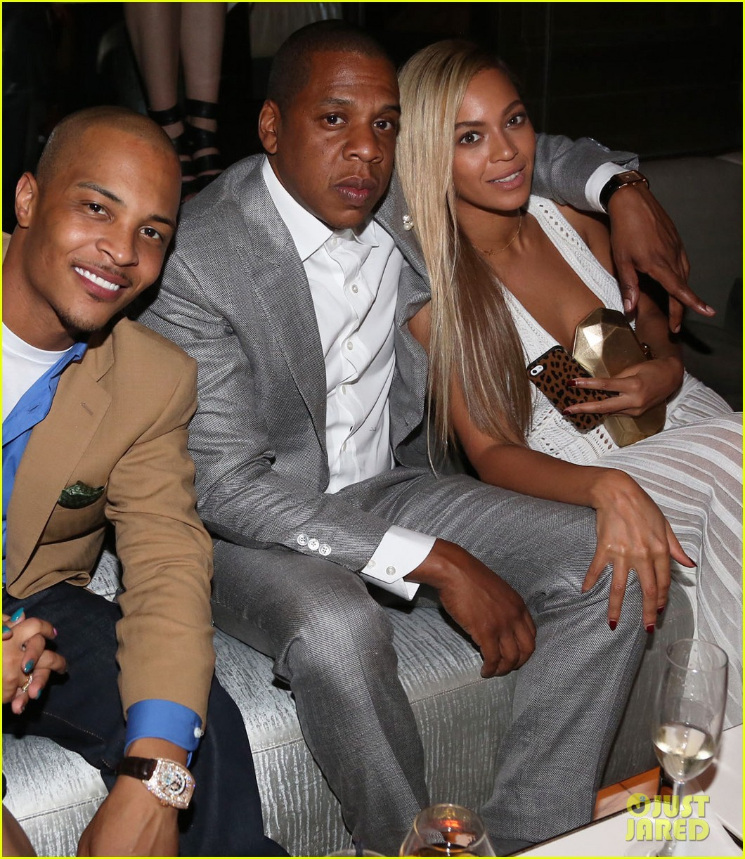 beyonce jay z 4040 club ten year anniversary party 05