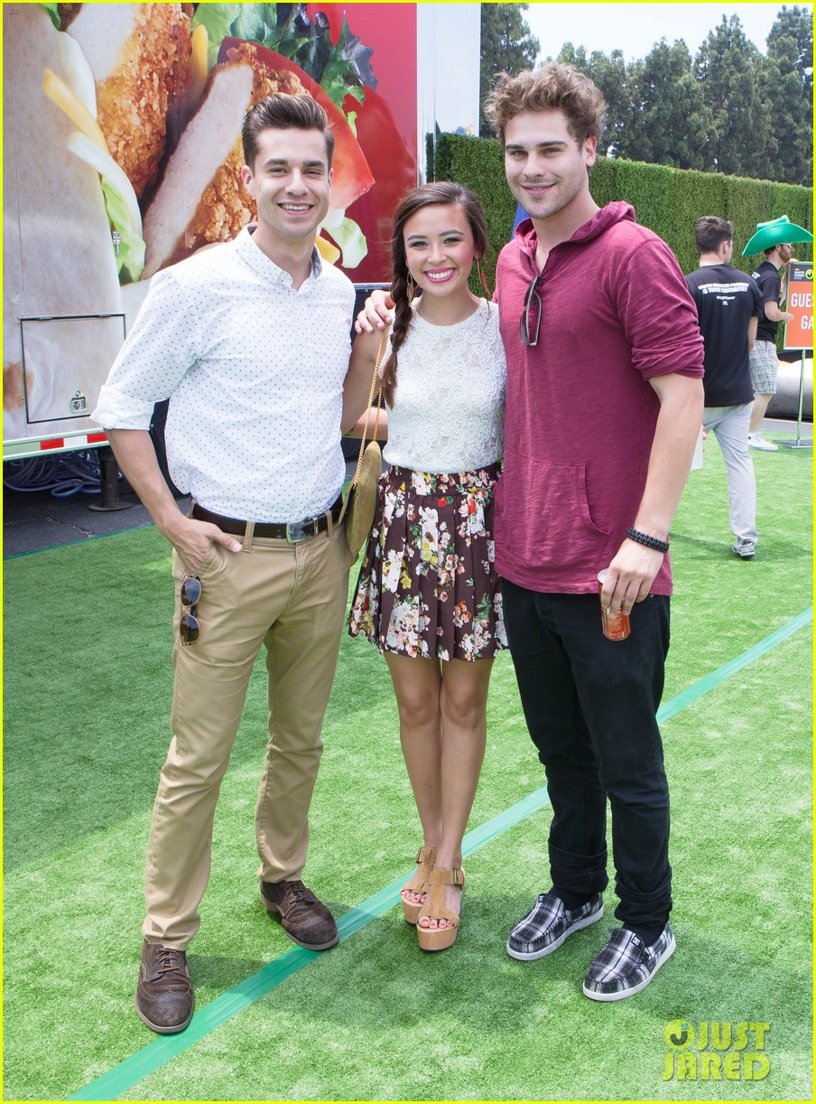 chloe bridges claudia lee just jared summer kick off party mcdonalds 302883585