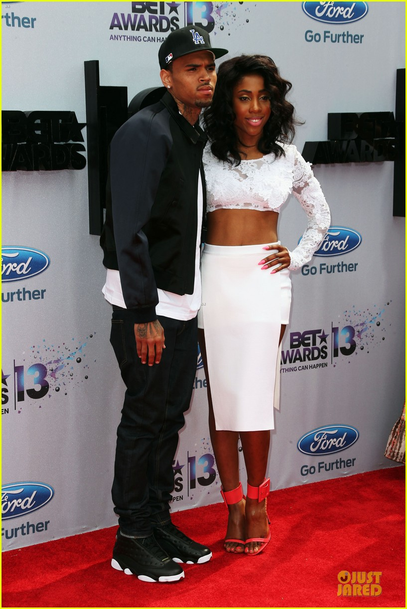 chris brown bet awards 2013 red carpet 032901437