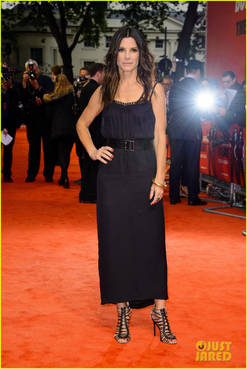 sandra bullock the heat gala screening in london 012890675