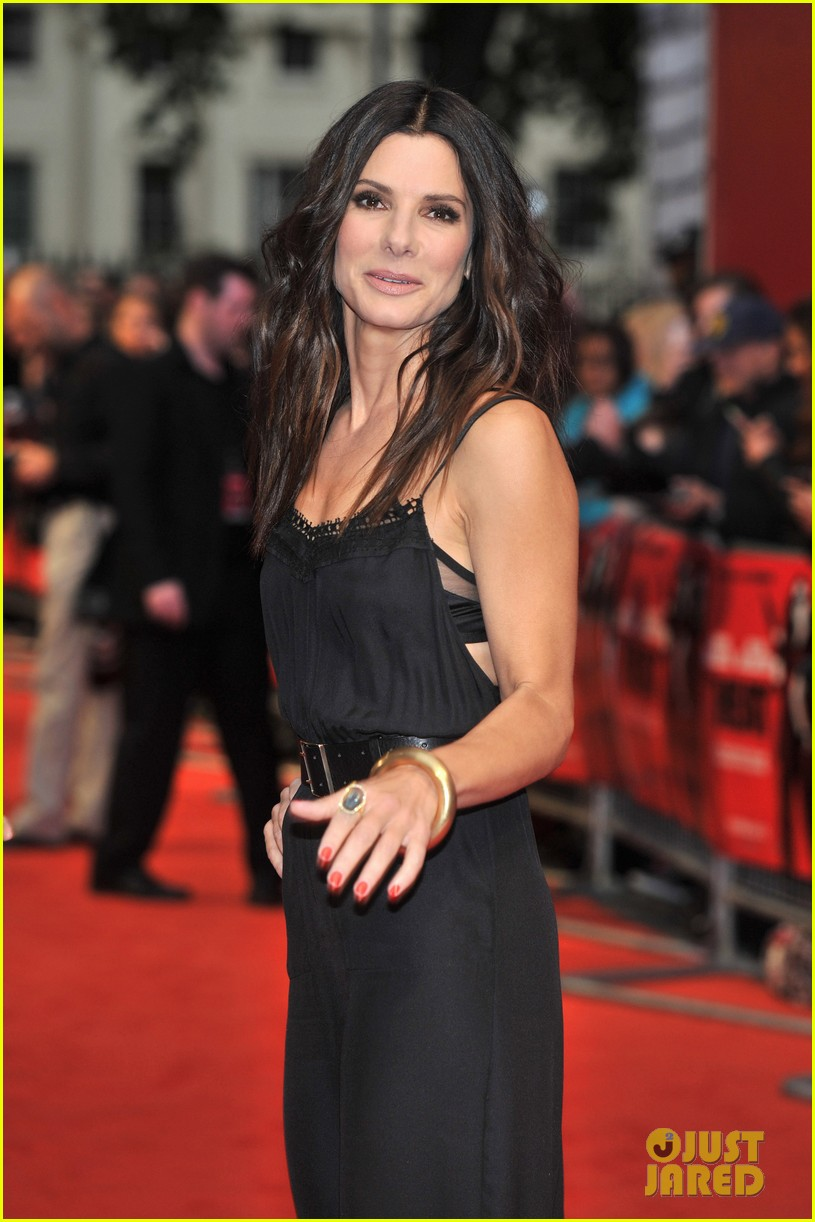sandra bullock the heat gala screening in london 092890683