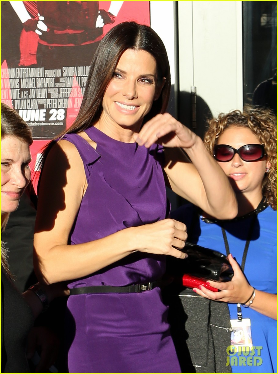 sandra bullock the heat boston premiere 022895560