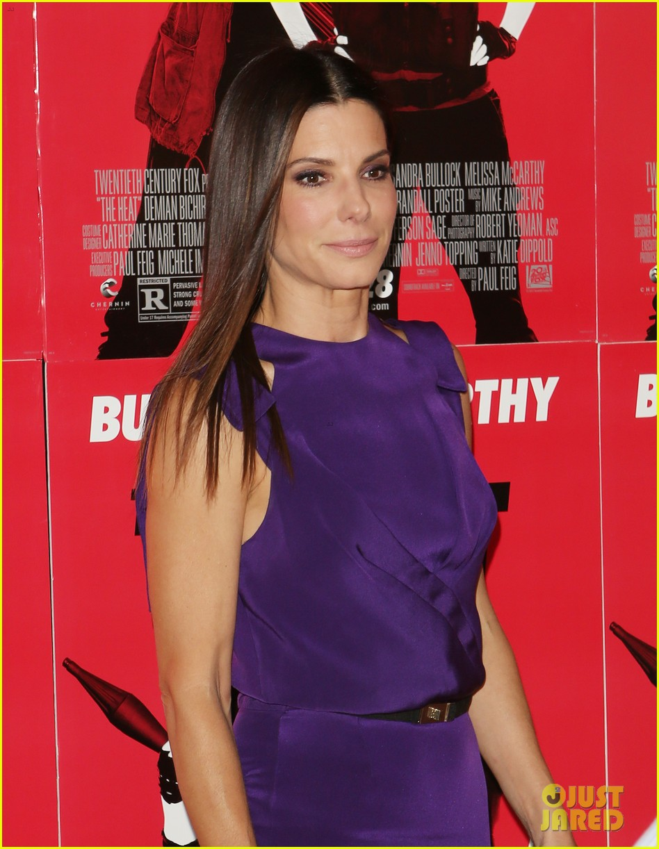 sandra bullock the heat boston premiere 042895562