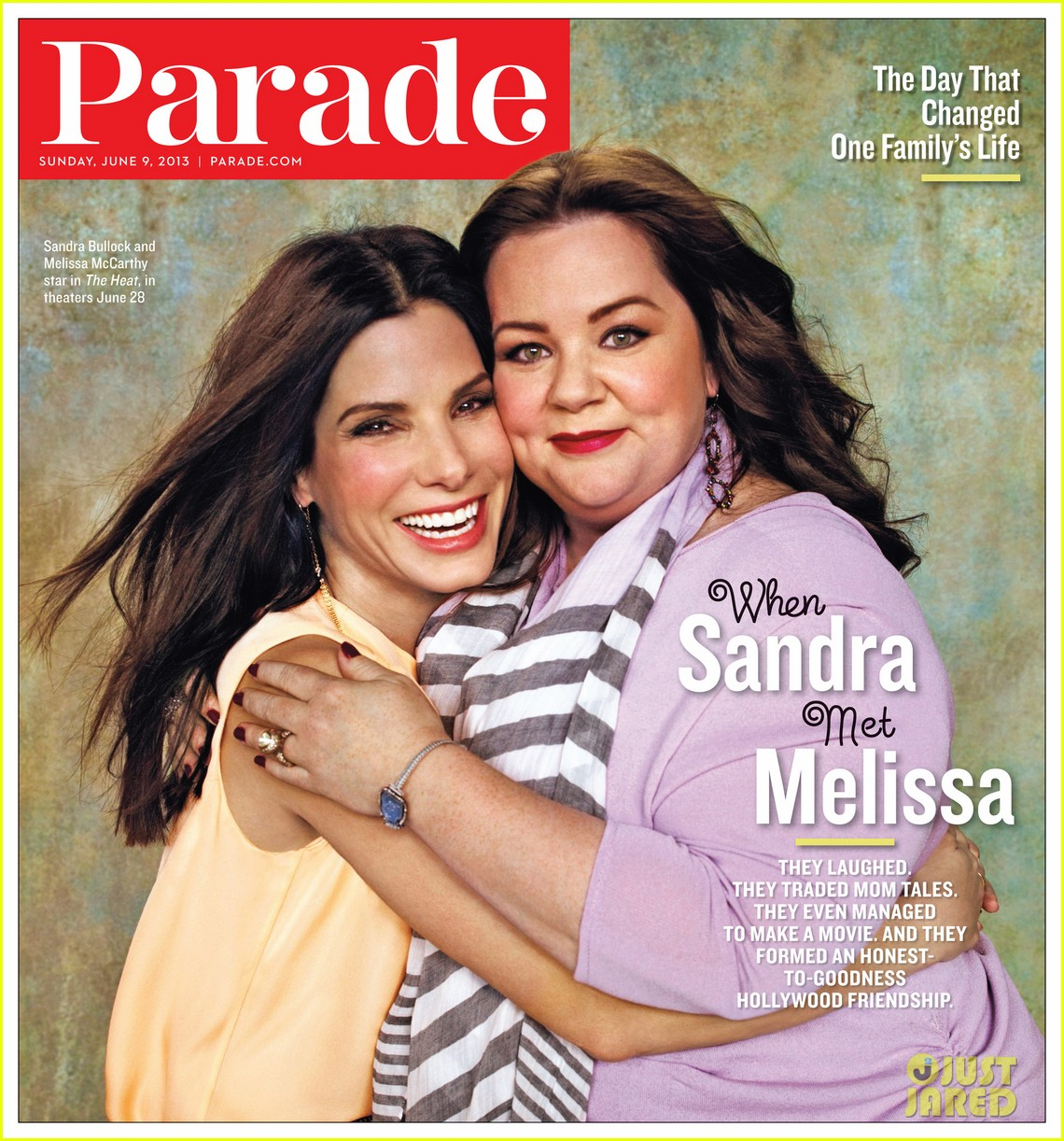 sandra bullock melissa mccarthy cover parade 012885845