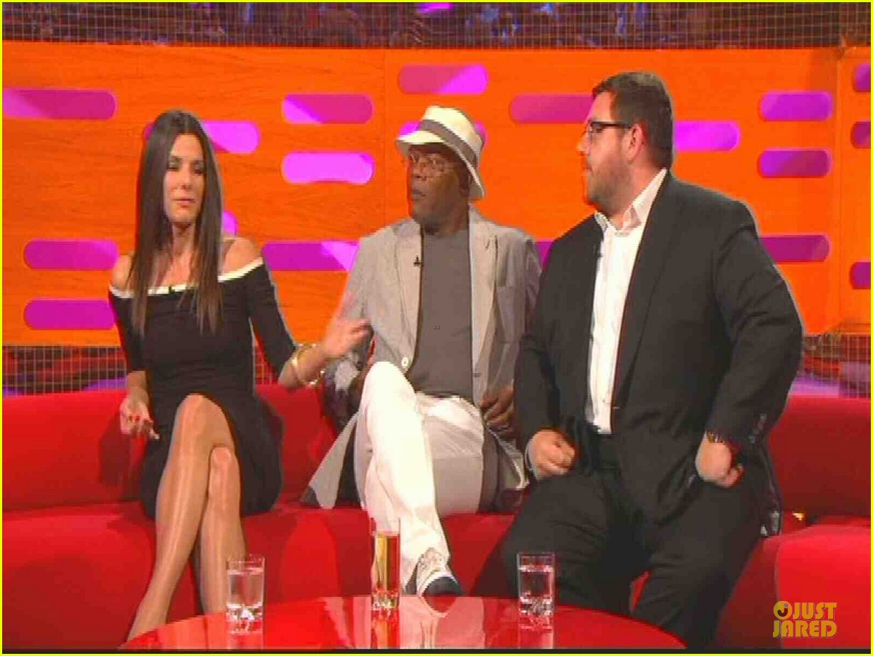 sandra bullock samuel l jackson sex scenes on graham norton 052900667