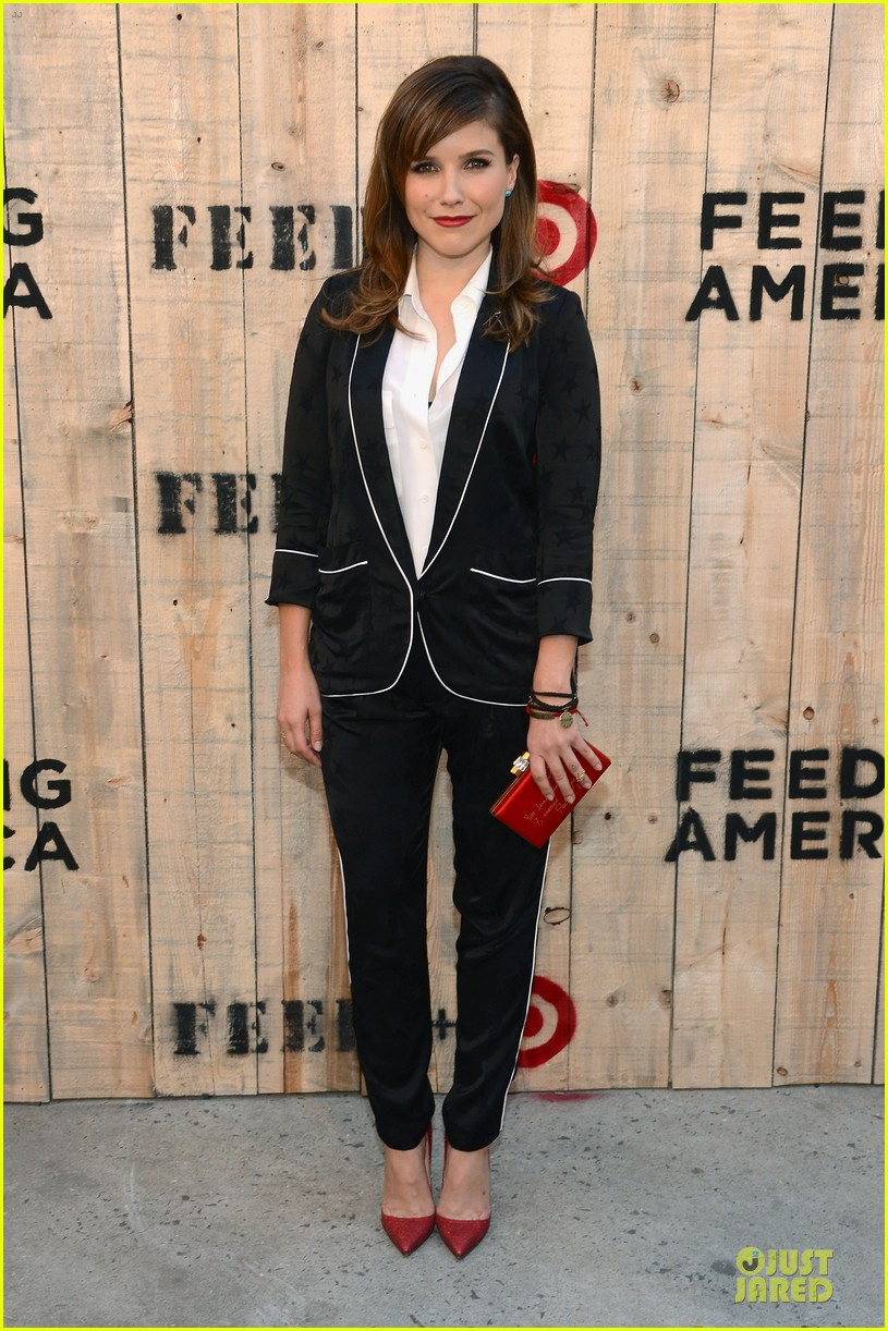 sophia bush karlie kloss feed target launch 012894754