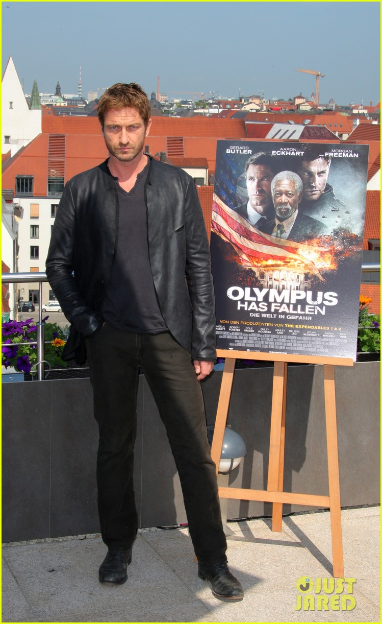 gerard butler olympus has fallen munich photo call 022886336