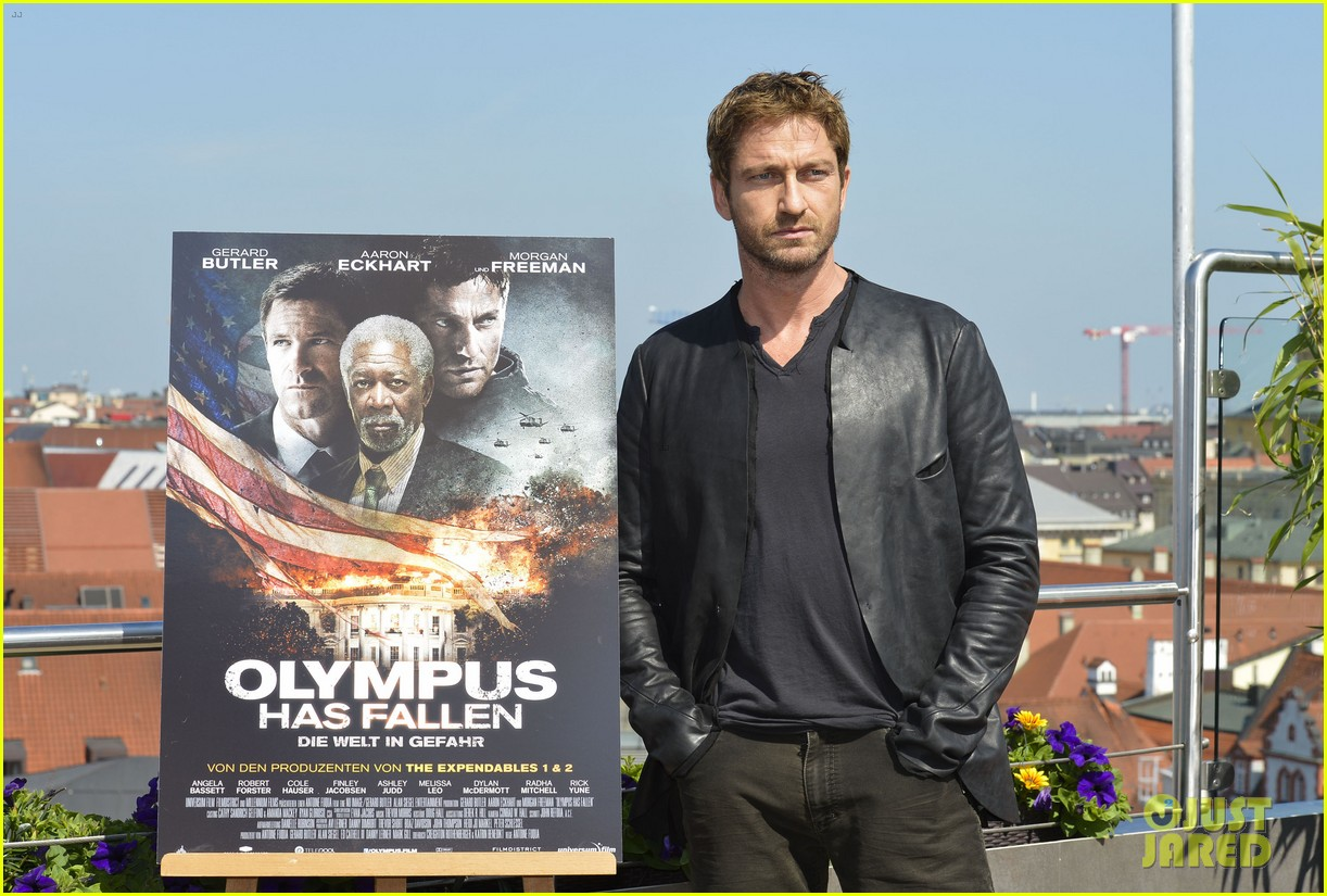 gerard butler olympus has fallen munich photo call 042886338