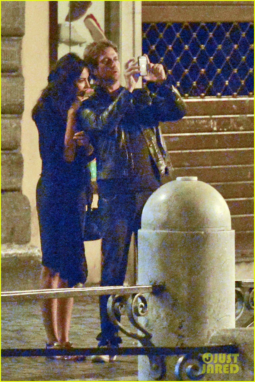 gerard butler rome night out with madalena ghenea 082898166