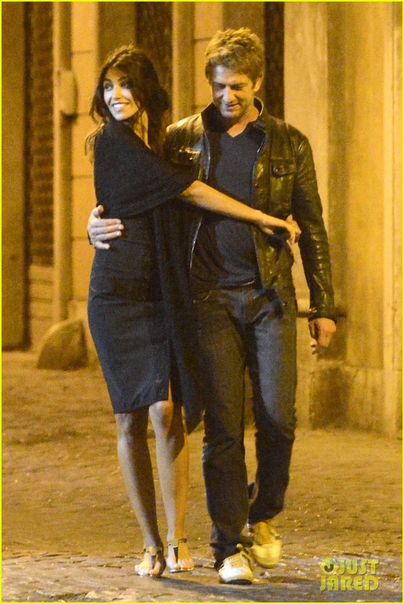 gerard butler rome night out with madalena ghenea 162898174
