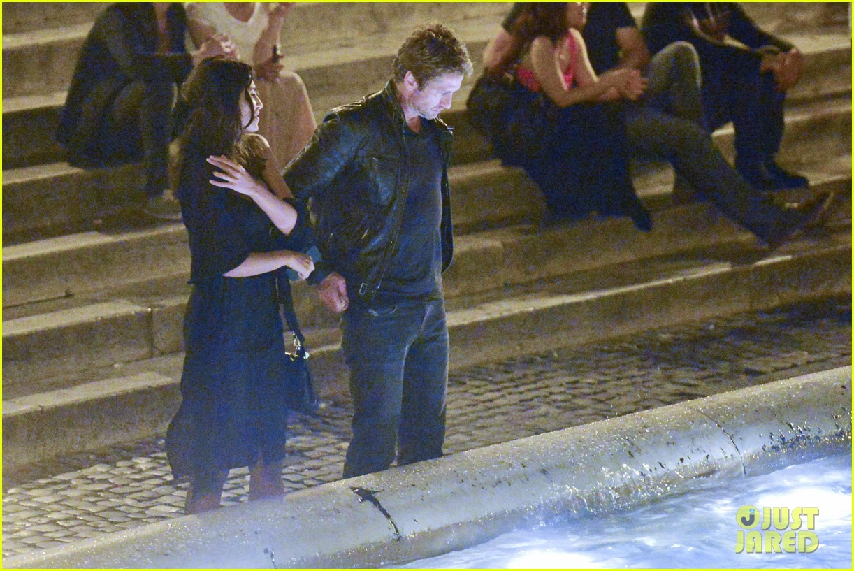 gerard butler rome night out with madalena ghenea 182898176