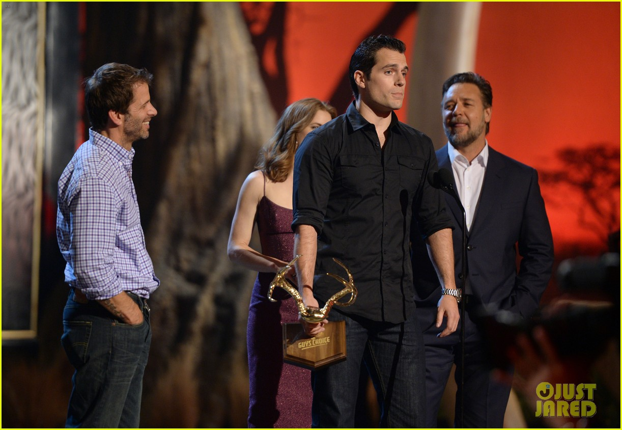 henry cavill amy adams guys choice awards 2013 172887408