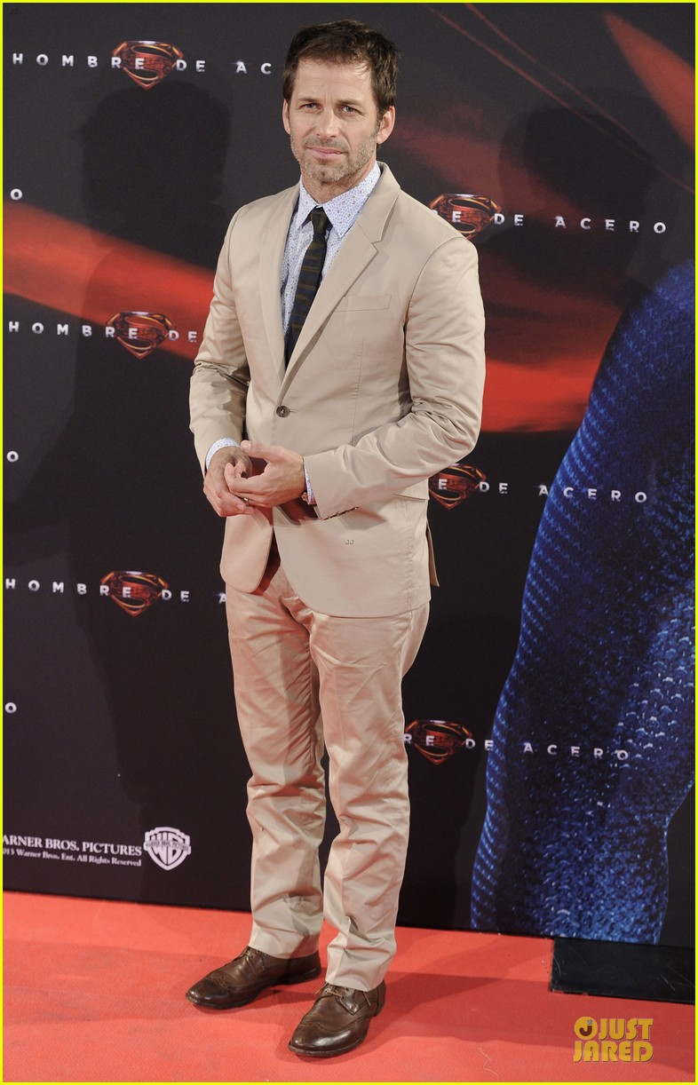 henry cavill russell crowe man of steel madrid premiere 132893066