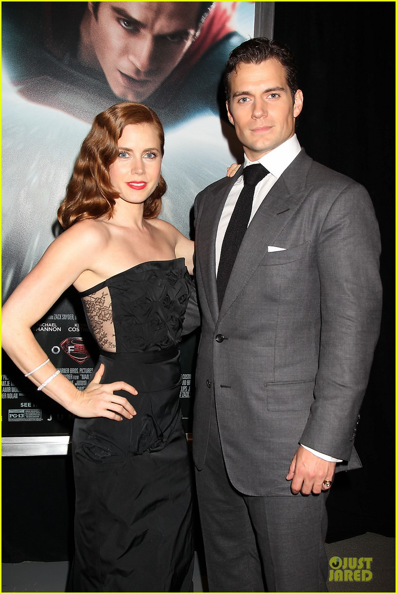 henry cavill amy adams man of steel nyc premiere 242889595
