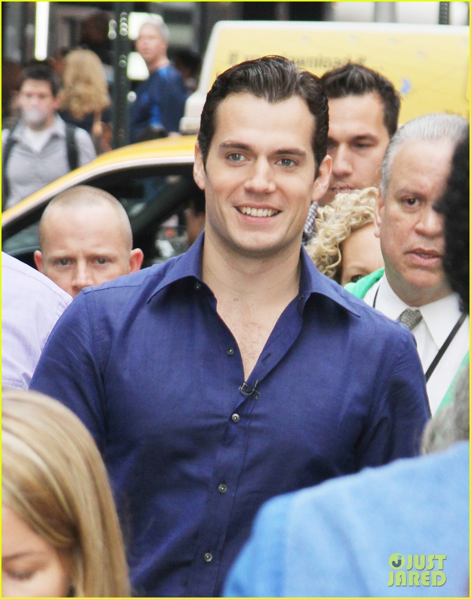 henry cavill amy adams talk show appearances in nyc 02
