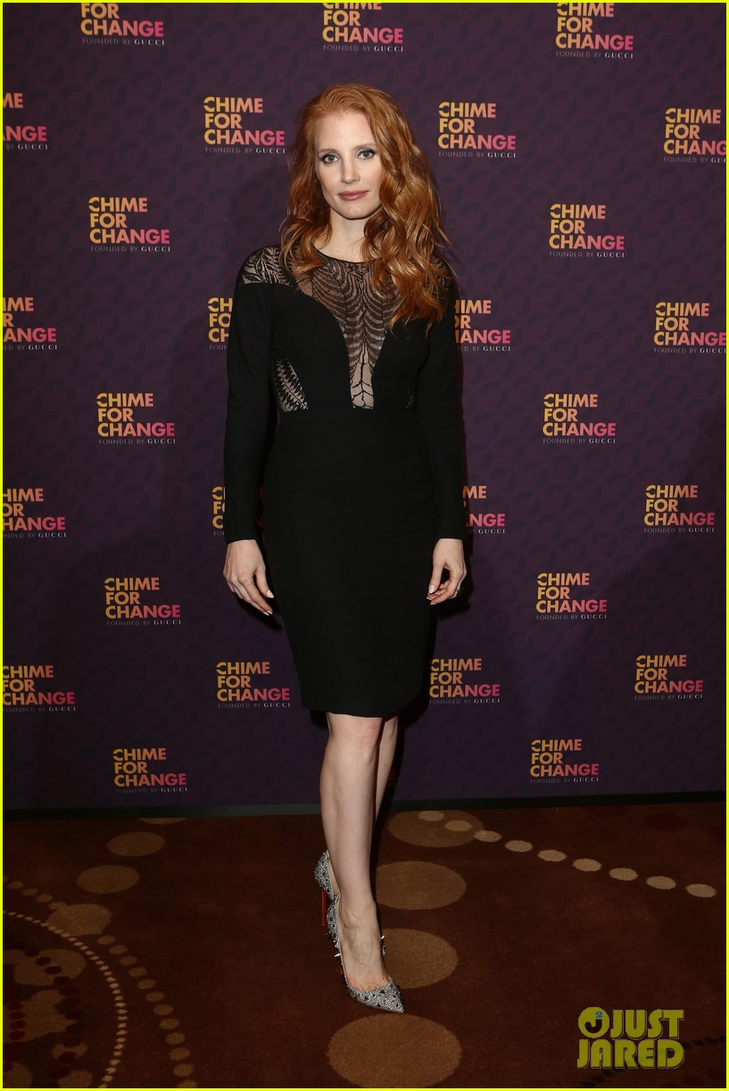 jessica chastain james franco chime for change concert 012882051