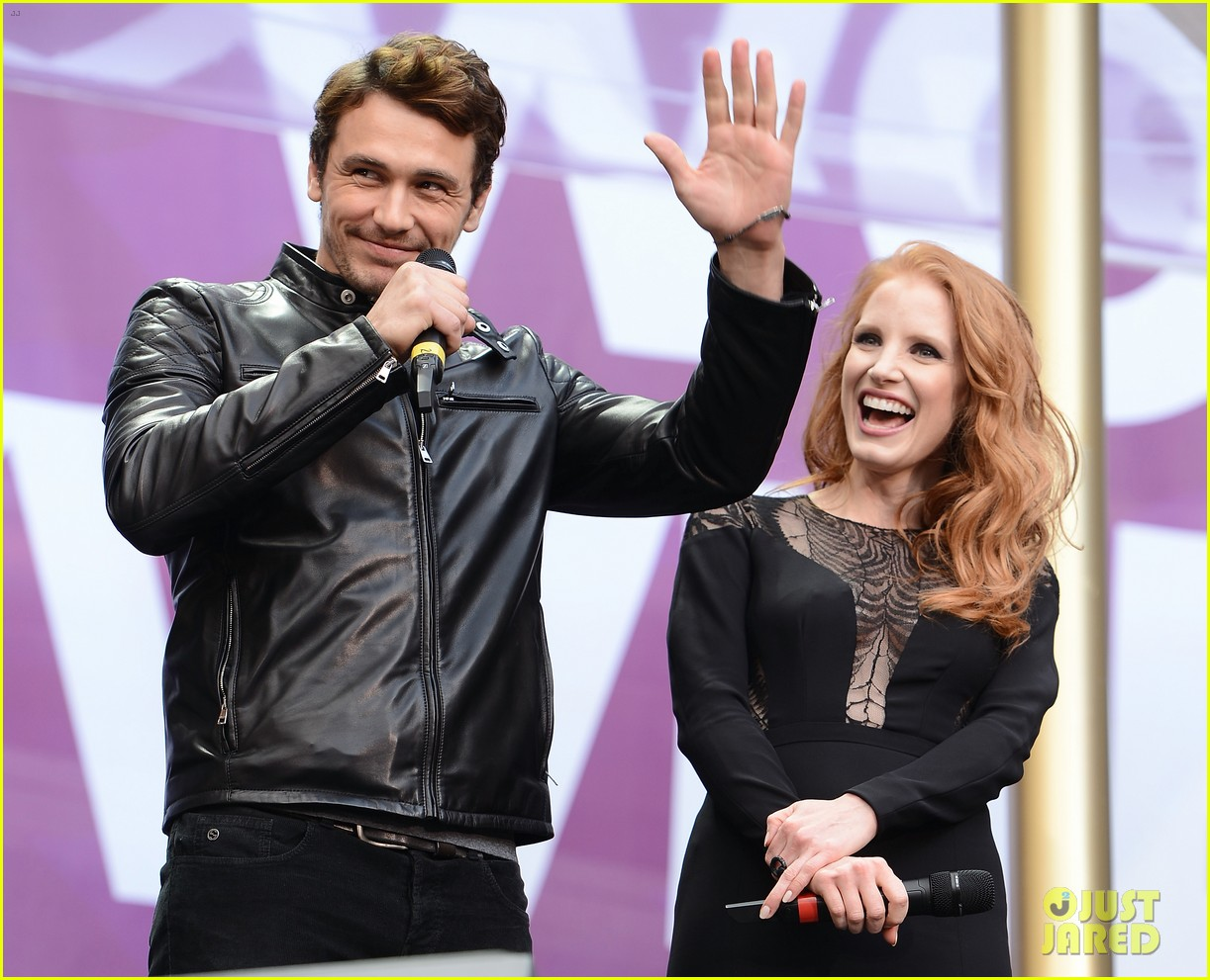 jessica chastain james franco chime for change concert 062882056