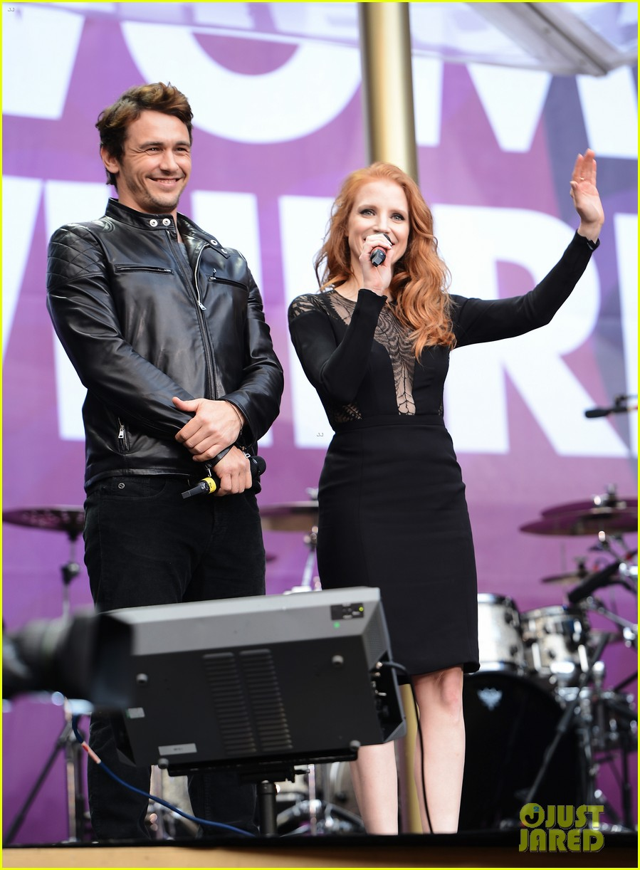 jessica chastain james franco chime for change concert 072882057
