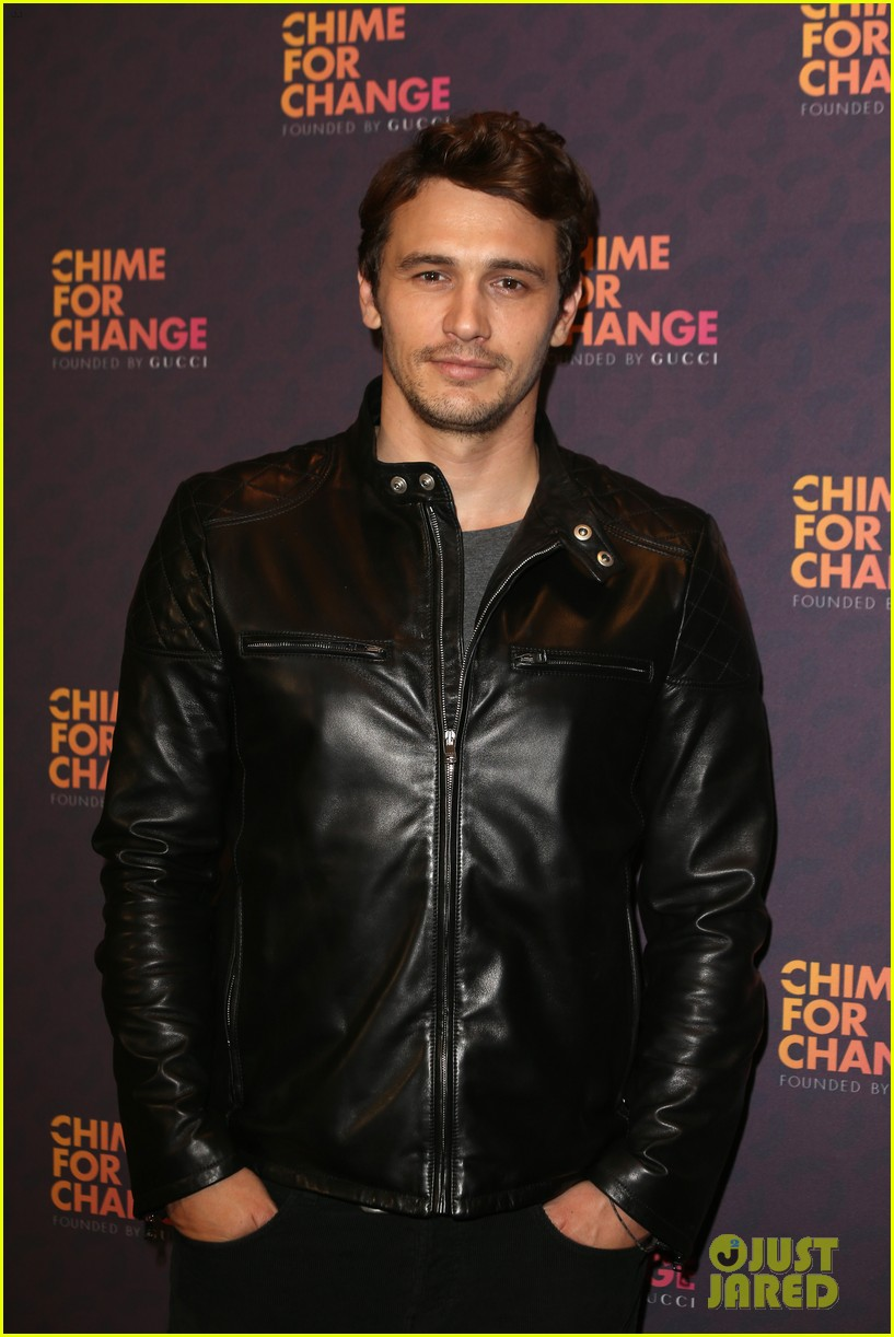 jessica chastain james franco chime for change concert 09