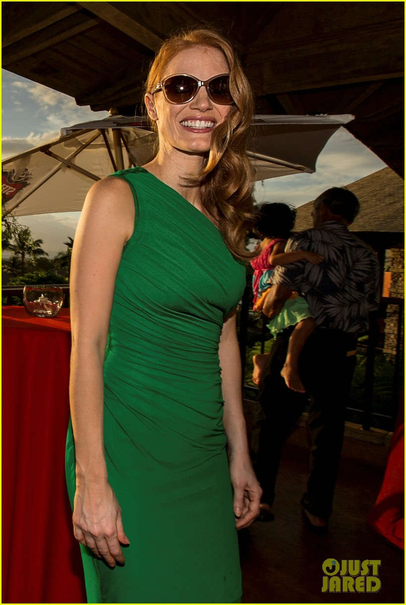 jessica chastain maui film festival opening 01