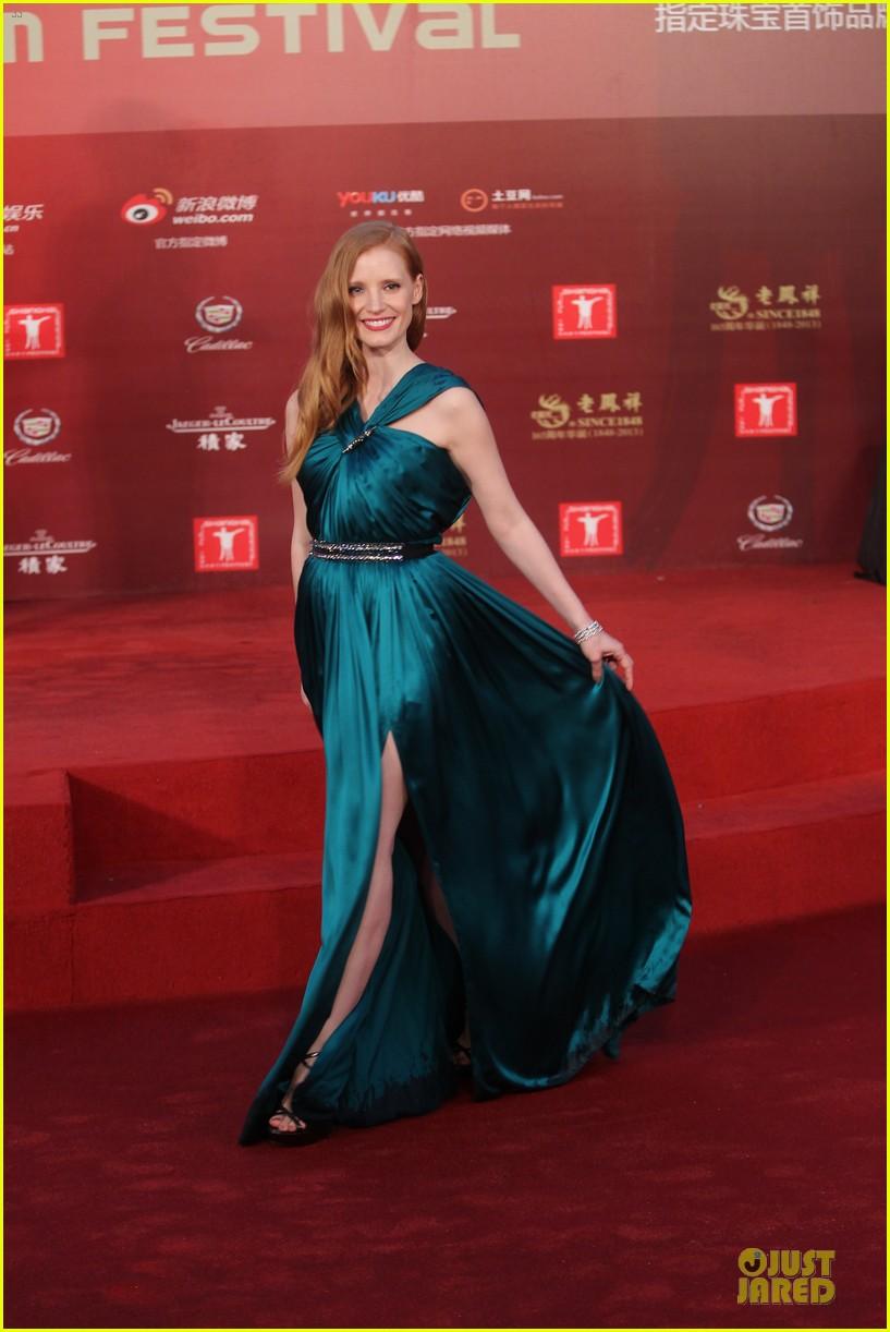 Jessica Chastain Shanghai International Film Festival
