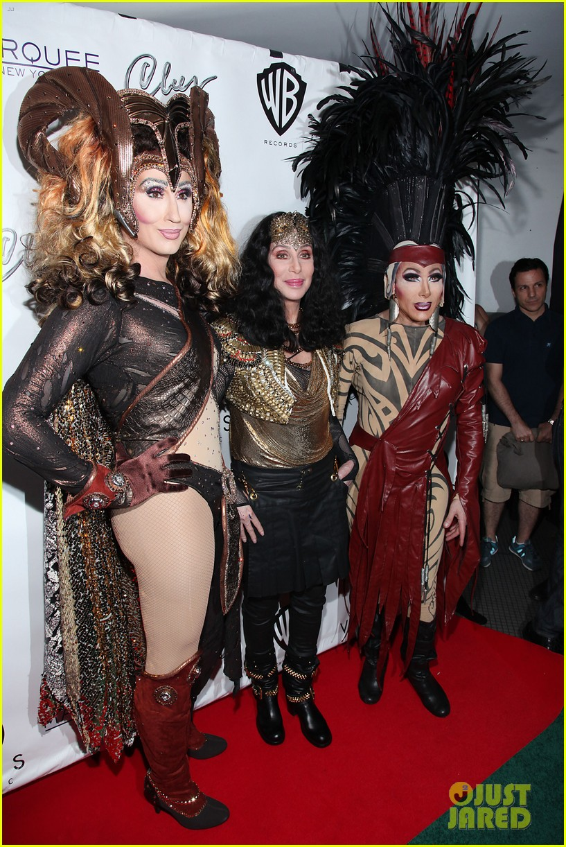 cher promotes womans world in new york city 022899837