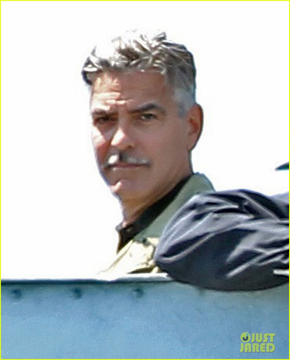 george clooney monuments men water trek scenes 032884901