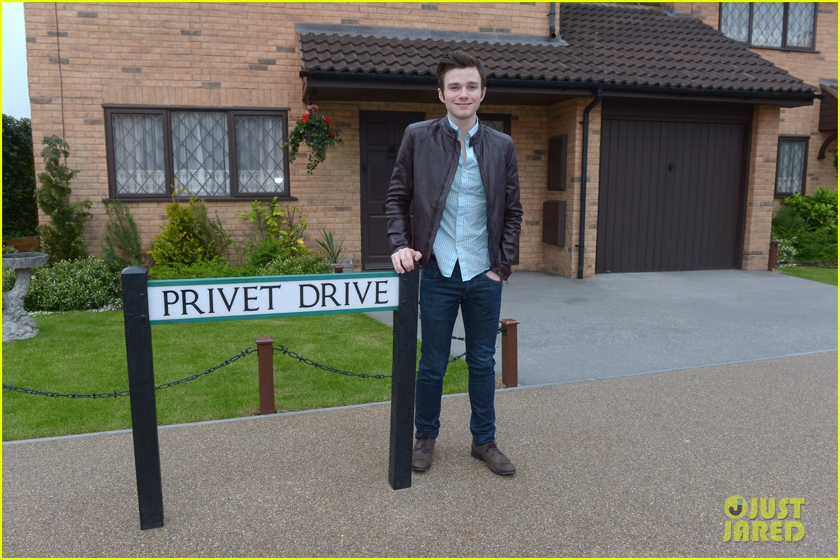 chris colfer harry potter studio tour in london 252895112